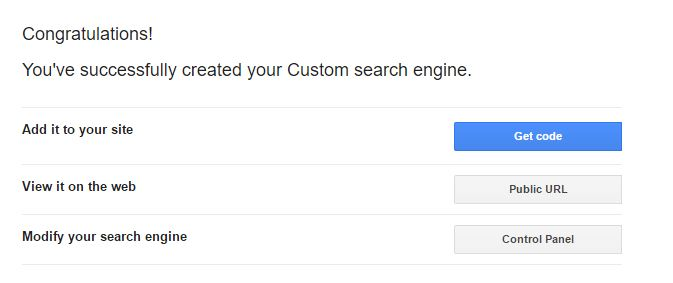 custom search engine on your blog