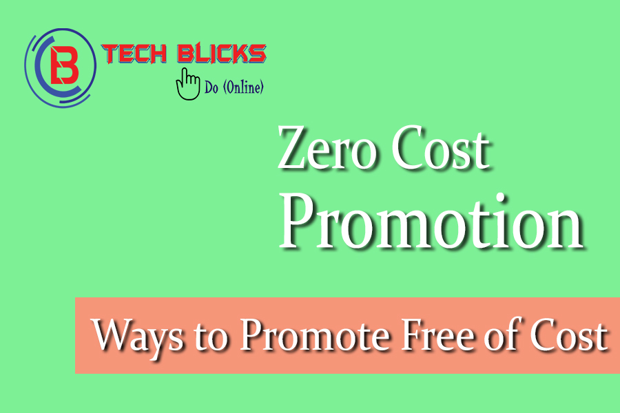 Free Ways to promote your website