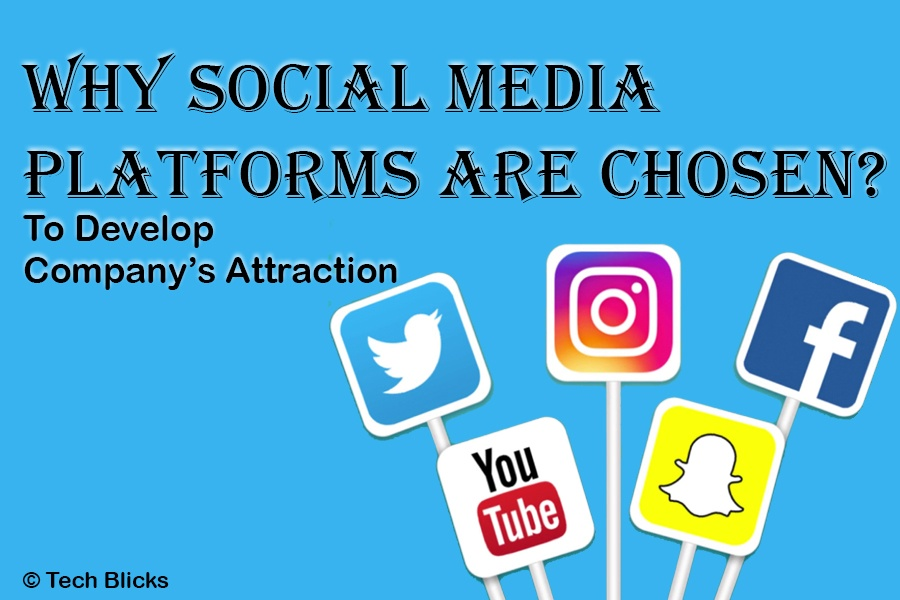 To Develop Company's Attention Why Social Media Platforms Are Chosen